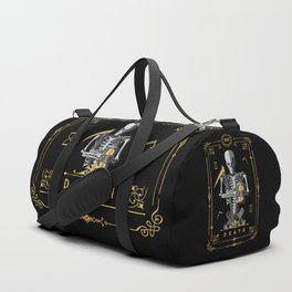 Death XIII Tarot Card Duffle Bag