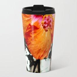 Hi Biscus Travel Mug