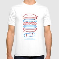 Street burger  X-LARGE Mens Fitted Tee White