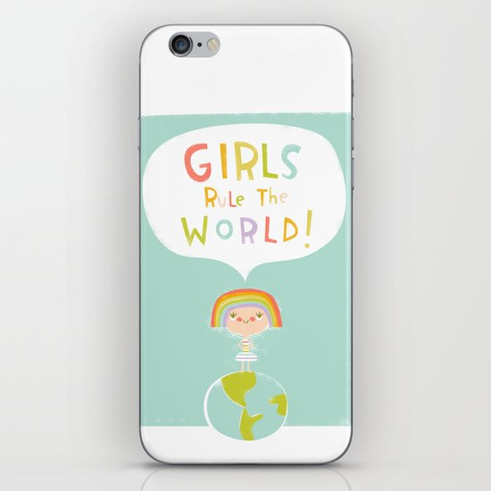 Girls Rule iPhone & iPod Skin