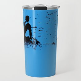 Blue Waters - Jet Ski Fun Travel Mug