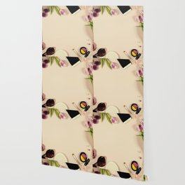 Creative beauty feminine arrangement Wallpaper