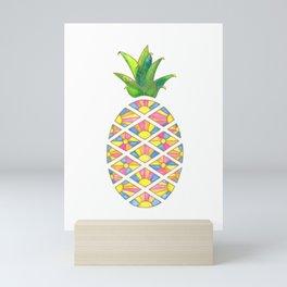 Pineapple Sunrise Mini Art Print