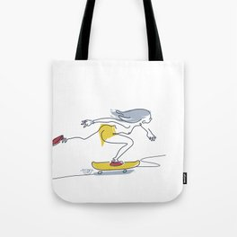 Dana flow One [pasty] Tote Bag
