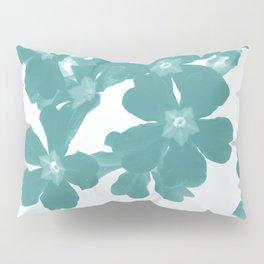 Floral Teal Pillow Sham