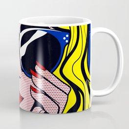 Pop Art Glamour Girl Coffee Mug
