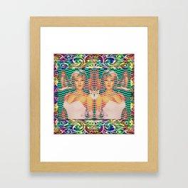 Foxy Vixen Framed Art Print
