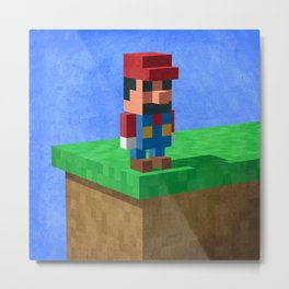 Mario's dilemma Metal Print