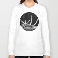 antler Long Sleeve T-shirts featuring Antler by Danielle Fedorshik