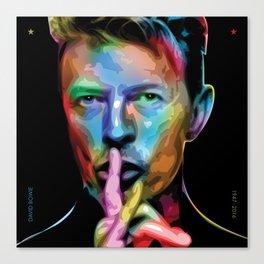 David 'Starman' Bowie Canvas Print