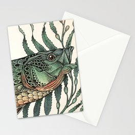 Striper in the Weeds Stationery Cards