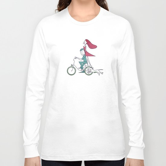 Faster than the wind Long Sleeve T-shirt