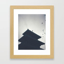 Spread your Wings at Silent Chimes Framed Art Print