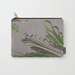 Quilling Flower Linen texture 3D Carry-All Pouch