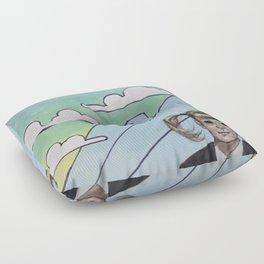 As Above, So Below Floor Pillow