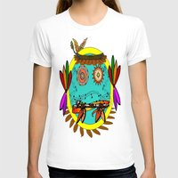 hippie T-shirts featuring Hippie Smilie by Wired Circuit
