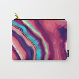 Colorful agate stone Carry-All Pouch