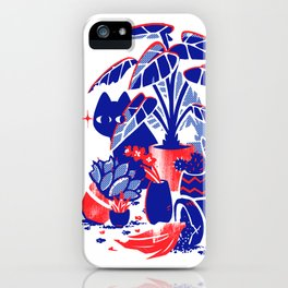 Horticulture Horror iPhone Case