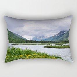 God's Country - III Rectangular Pillow
