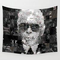 karl Wall Tapestries featuring Karl Lagerfeld by Artstiles