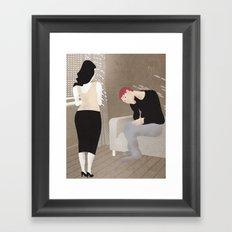 Why Are You Always So Sad? Framed Art Print