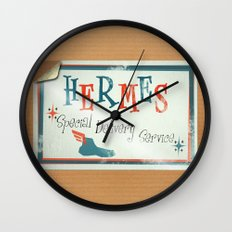 Hermes Special Delivery Service Wall Clock