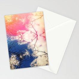 Cloudgazing kaleidoscope Stationery Cards