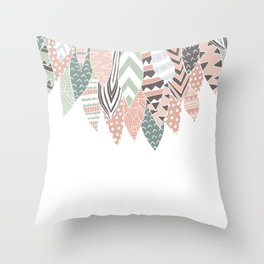 PLUMAS Throw Pillow