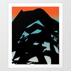 In The Language of Suns Art Print