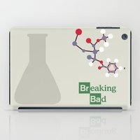 movie poster iPad Cases featuring Breaking Bad - Movie Poster by Stefanoreves