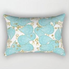 Paisley and Lacey Rectangular Pillow