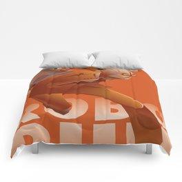 RUN ROBO RUN Comforters