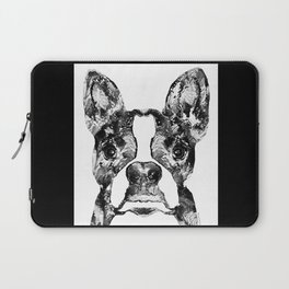 Black And White Terrier Dog Art Sharon Cummings Laptop Sleeve