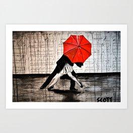 Rain King Art Print