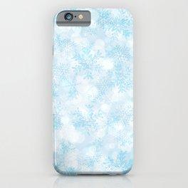 Icy Snowflakes iPhone Case
