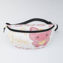 Really Loves Pigs Fanny Pack