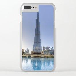 Burj Khalifa Dubai Clear iPhone Case