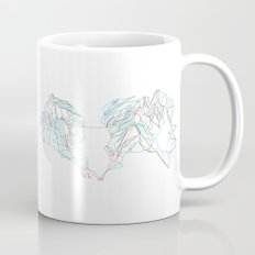 Whistler Blackcomb, BC, Canada - Minimalist Trail Map Mug