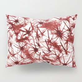 Red Abstract 386 Pillow Sham
