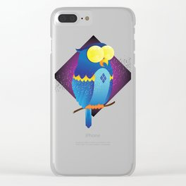Mesmerized by Moonlight Clear iPhone Case