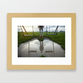 Residual Framed Art Print