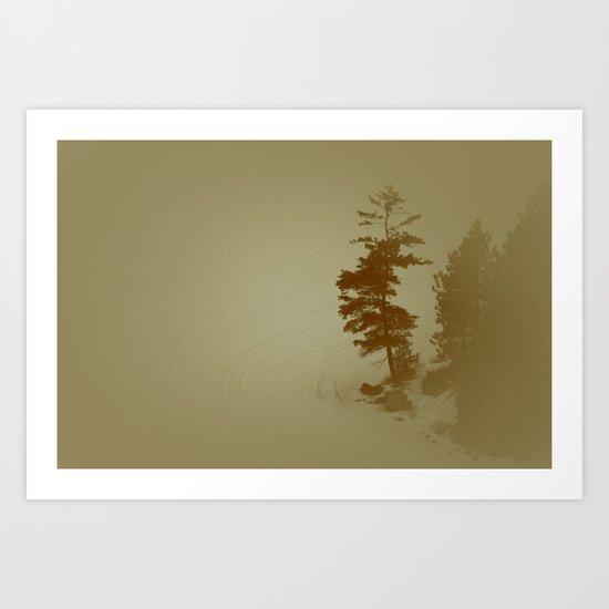 Gunflint Trail Art Print