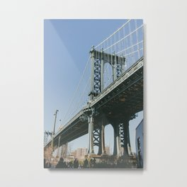 Down Under the Bridge Metal Print