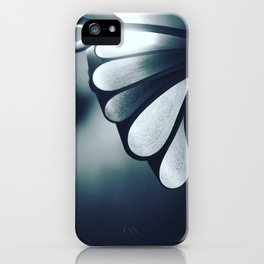 blossoming mind in blue tone iPhone Case