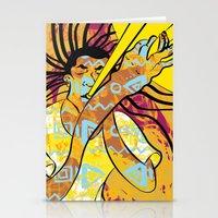 jazz Stationery Cards featuring Jazz by Sanfeliu