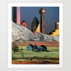 Homestead Blues Art Print