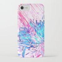 data iPhone & iPod Cases featuring Data Surge by Adom Balcom