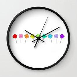 Too Sweet (Lolli Pops 4) Wall Clock