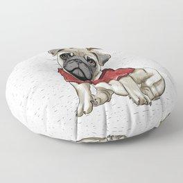 Reindeer Pug Floor Pillow