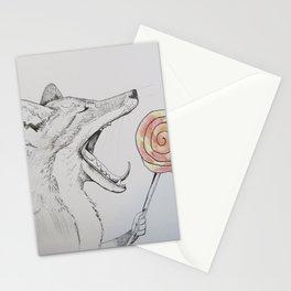 How Many Licks? Stationery Cards